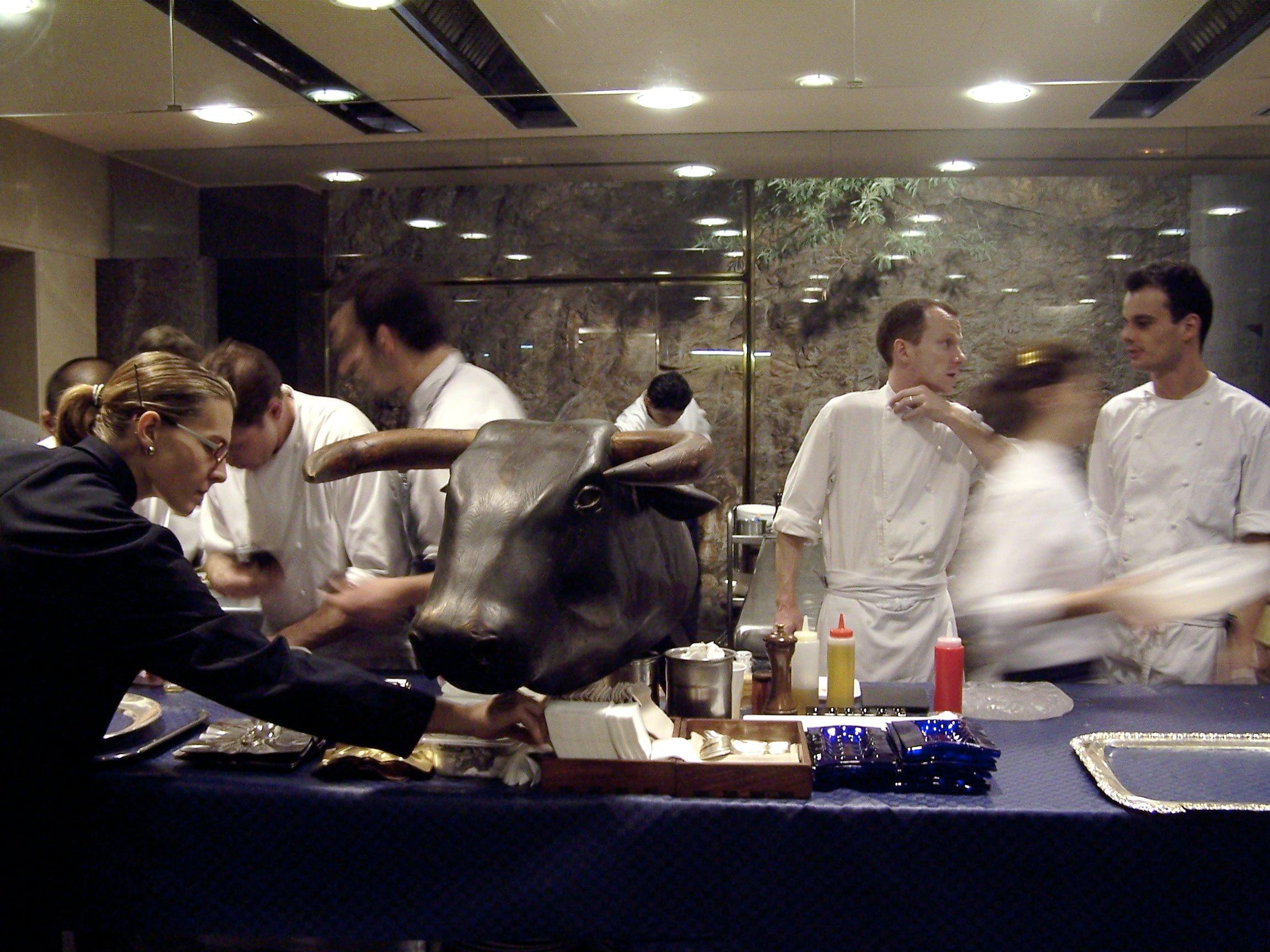 El Bulli kitchen