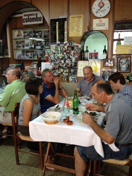 pranzo da Tacconi