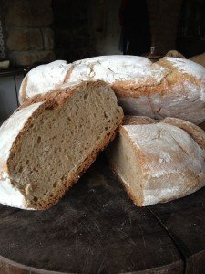 Bread from Forteto's wood-fired oven