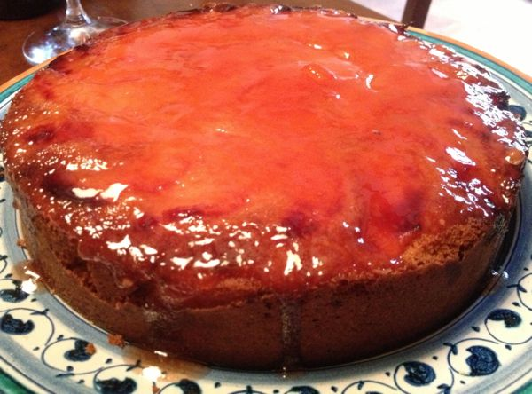 quince-ginger cake
