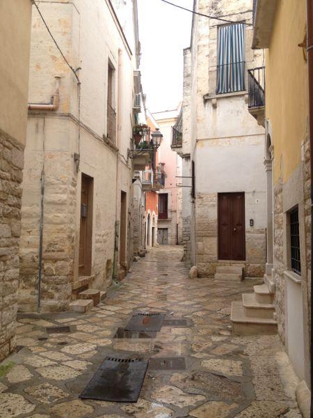 Andria rainy street