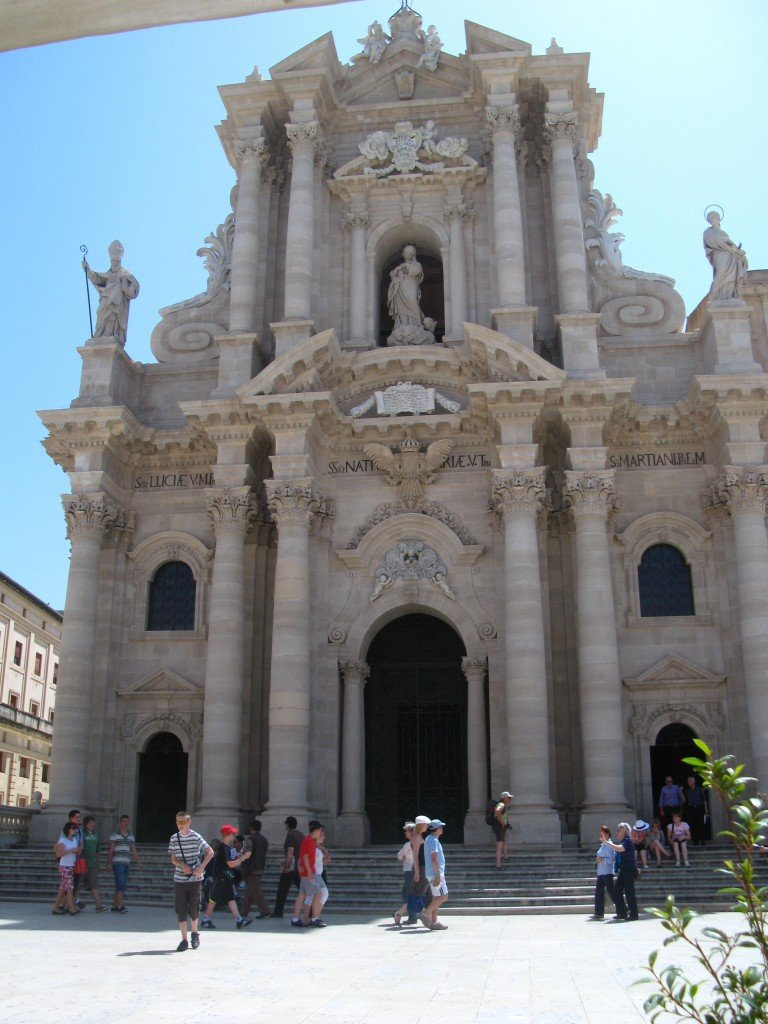 The Chiesa Madre, or duomo of Siracusa