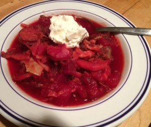 borscht ready to go